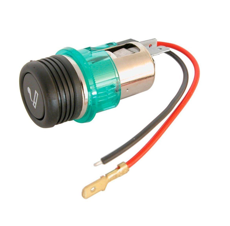 Xtremeauto Lighter Aux Socket Or Plug 12 Volt Cigarette Fiat 500 Fuse Box European Car Motorbike