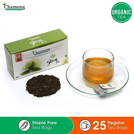 Chamong Darjeeling' Green Tea, 25 Tea Bags (Pack of 2) = 50 Tea Bags