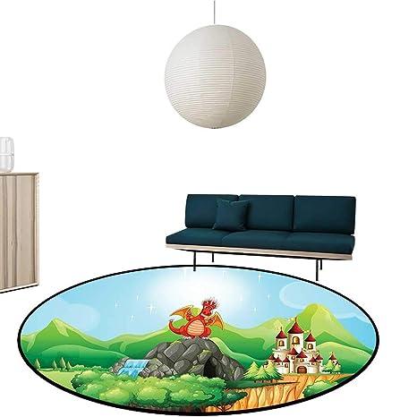 Amazon.com: Custom&blanket Simple Modern Carpet Drag ...