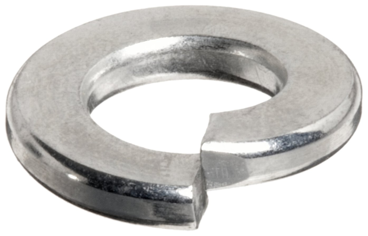 Stainless 1//4-Inch Split Lock Washer 100-Pack