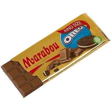 Chocolate con leche de marabú con Oreo 250 g