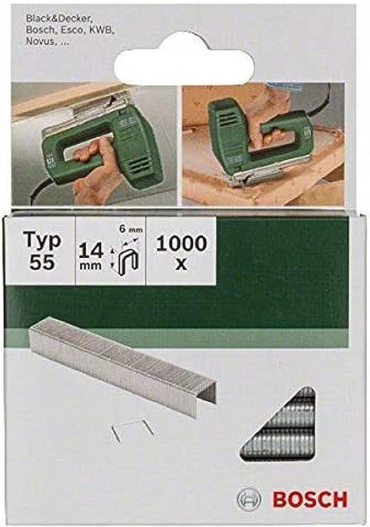 Bosch 2609255826 - Grapas (tamaño: 14mm, pack de 1000): Amazon.es: Bricolaje y herramientas