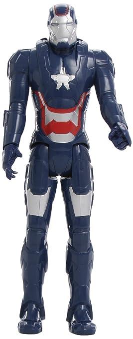 IronMan Marvel Avengers Patriot, figura de titán, 30 cm (Hasbro A2512E27)