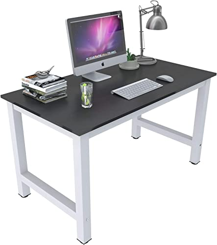 Mecor 43 Large MDF Computer Desk PC Laptop Table Study Work-Station Home Office Furniture