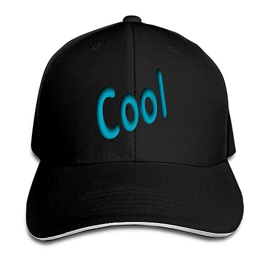 a8264d07612 Amazon.com  Cool Summer Snapback Cap Flat Bill Hats Adjustable Plain Blank  Caps for Men Women  Clothing