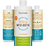 Oxyfresh Premium Pet Dental Care Solution Pet Water Additive: Best Way to Eliminate Bad Dog Breath and Cat Breath - Fights Ta
