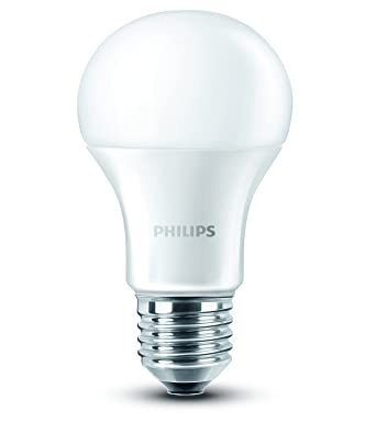 Philips LED Lampe ersetzt 60 W, EEK A+, E27, warmweiß (2700 Kelvin ...