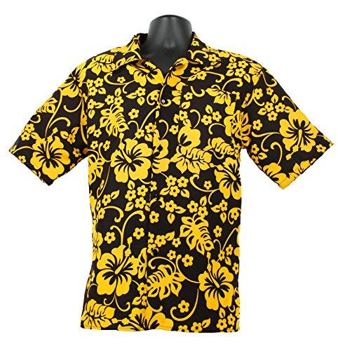 Costumes Vegas (Raoul Duke Hunter S Thompson Fear & Loathing in Las Vegas Hawaiian Costume Shirt (Medium))