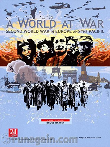 GMT Games A World at War: Second World War in Europe and The Pacific (World And Allies Axis War 1)