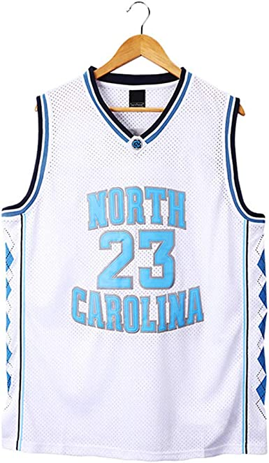Jordan #23 North Carolina playera de baloncesto para hombre ...