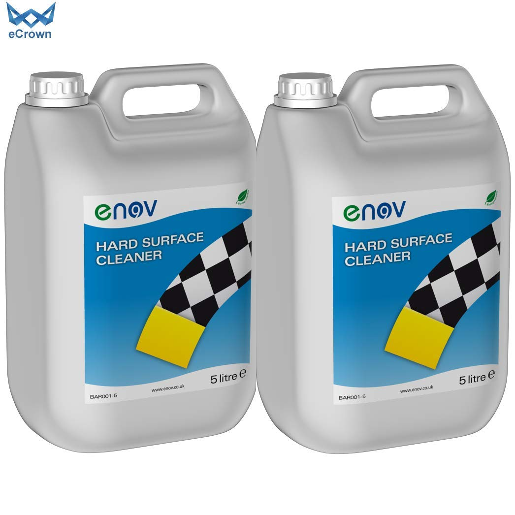 Enov H001 Multi Purpose Hard Surface Cleaner 5 Litre ~ Pack of 2 eCrown