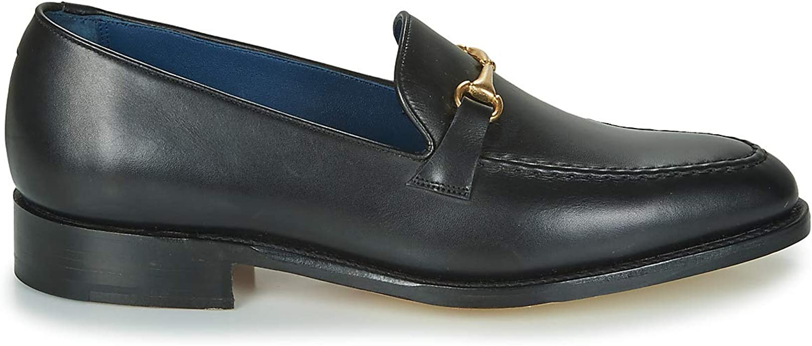 BARKER Frank Loafers & Boat Shoes Men Black Loafers Shoes: Amazon.co.uk:  Shoes & Bags