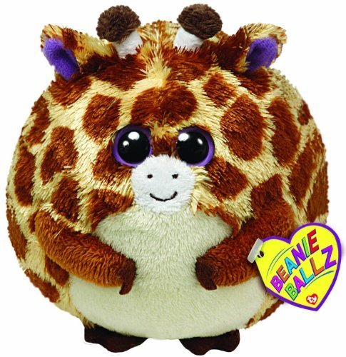Ty Beanie Ballz Tippy The Giraffe Medium