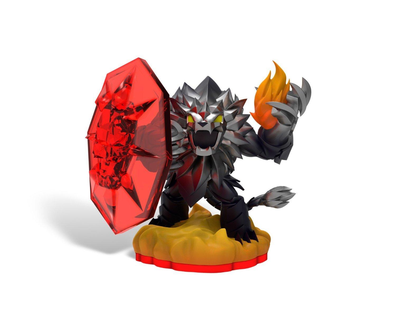 Skylanders Trap Team: Trap Master Dark Wildfire Individual Character - New In Bulk Packaging