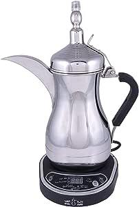 ماكينة تحضير القهوة العربية الكهربائية - Jls-170E, فضي