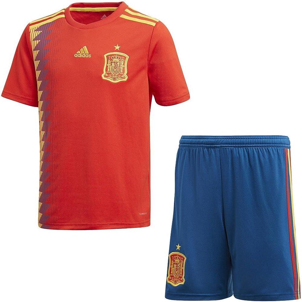 Conjunto Adidas 1ª España Mundial 2018: Amazon.es: Ropa y accesorios