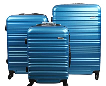Orlacs Dublin 3 Maletas Trolley para portátiles, (Azul - azzurro elettrico) - A-8807