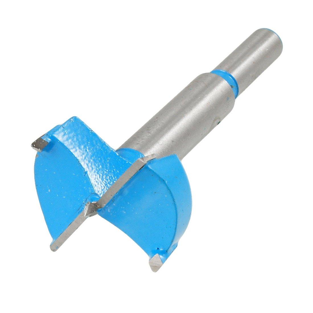 Forstner Astuce Charniè re 35 mm Dia Fraise pour perceuse pour menuiserie Bleu gris Sourcingmap a12091300ux0283