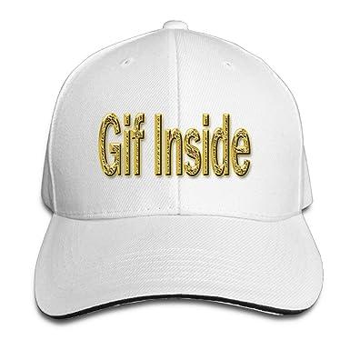 xj-cool Gif interior – Gorra de béisbol gorra con visera Sandwich ...