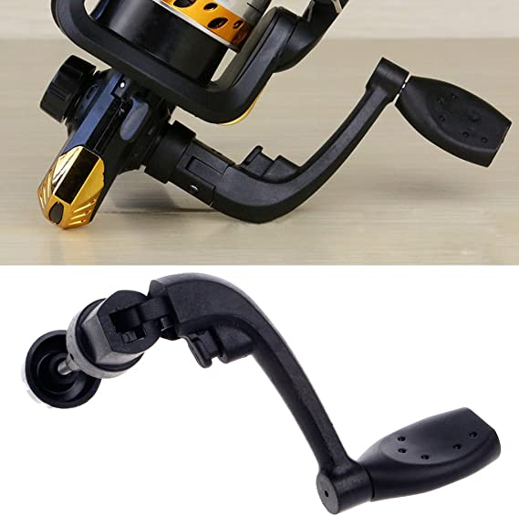 Metal Power Handle Knob Fishing Reel Crank Arm Spinning Reel Handle M//L STOCK