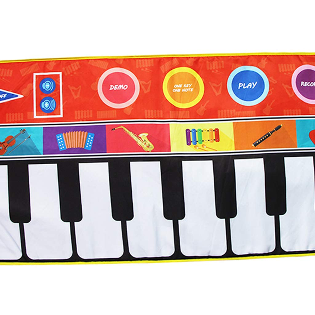 Toygogo Musical Music Piano Play Baby Mat Animal Educational Mat 148x60cm by Toygogo (Image #7)