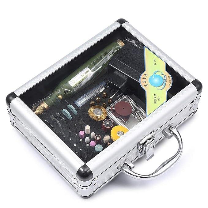 WLXY P-800 80 in 1 multifunktionale Mini Bohrmaschine Polieren Grinder Werkzeug-Set EU-Stecker