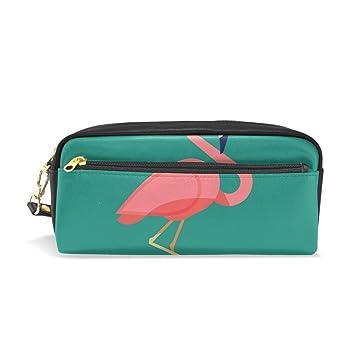 Funny Flamingo - Estuche para gafas de sol (gran capacidad ...