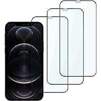 Suppeak Protector de Pantalla Compatible con iPhone 12/Pro 6.1'', Cristal Templado, Anti-Rasguño Protección de Pantalla…