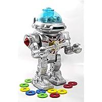 Türkçe Konuşan Müzikli Yürüyen ve Disk Fırlatan Oyuncak Robot - Birlik