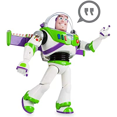 "Disney Advanced Talking Buzz Lightyear Action Figure 12"" (Official Disney Product): Toys & Games"