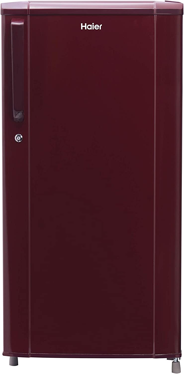 Haier 181 L 3 Star Direct Cool Single Door Refrigerator  HRD 1813BBR E, Red  Refrigerators