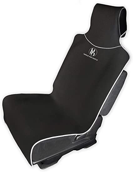 S 77964-09 Leatherette Fabric Tan Saddleman Front Bench Custom Made Seat Cover