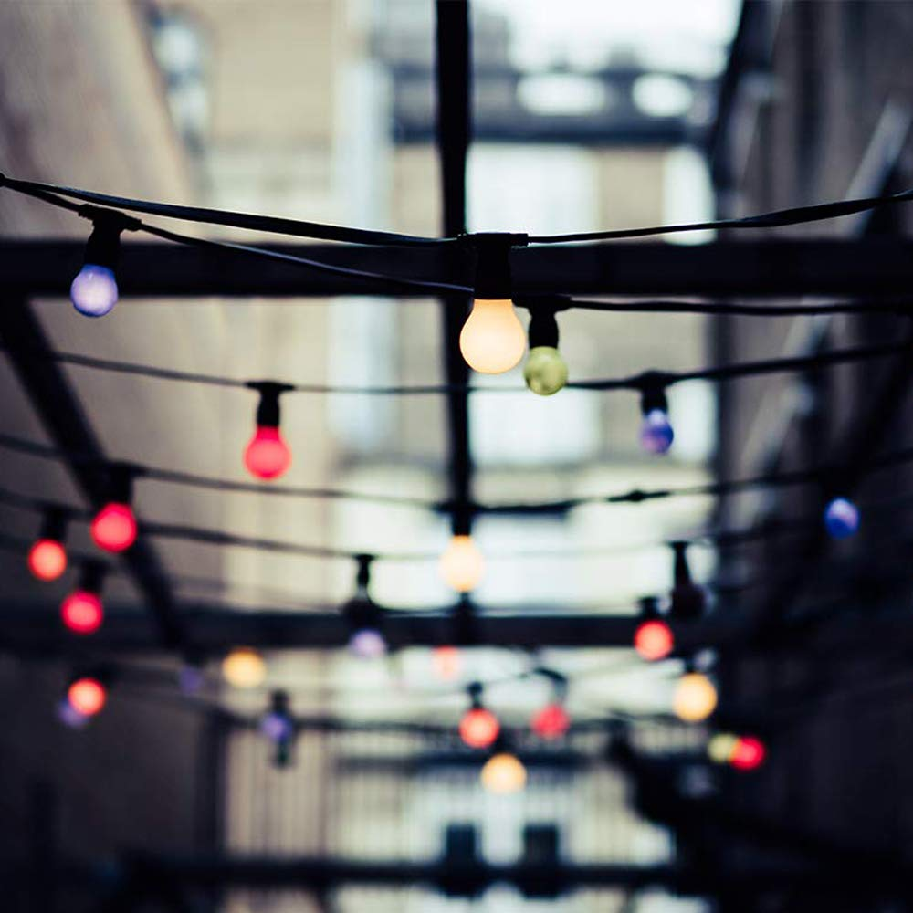 /équivalent 20W petites ampoules de No/ël BC Cap Ampoules ba/ïonnette B22 Paquet de 10 ampoule LED Feston 2 W ampoule /éco/énerg/étique /éco/énerg/étique color/ée Couleur