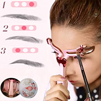 Amazon Com Eyebrow Stencils Professional Adjustable Make Up