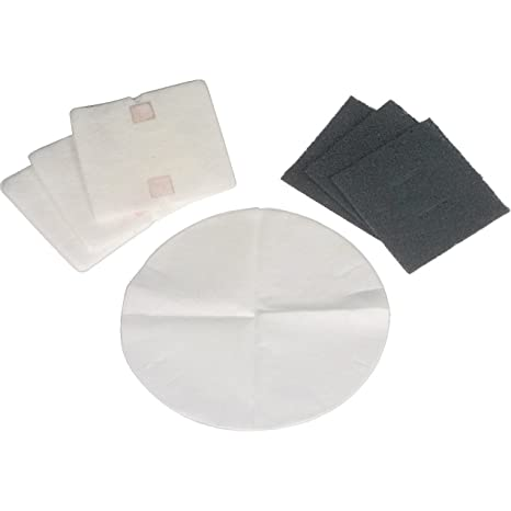 DeLonghi 552094 - Juego de filtros para freidoras, negro ...