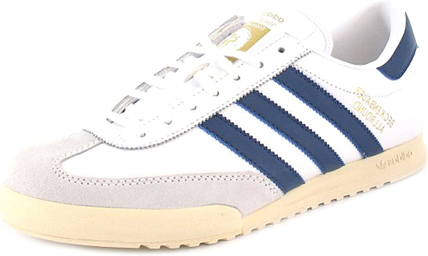 Mens/Gents White Leather \u0026 Suede Adidas