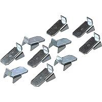 Gedotec VARI 10 Metalen plankdrager voor het ophangen in rail - VARI 10 | verzinkt staal | houder voor houten vloeren…