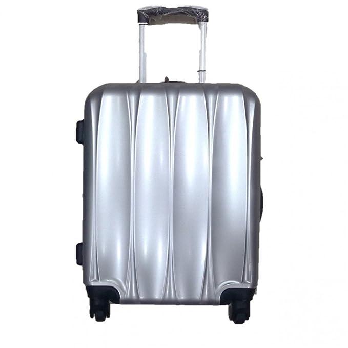 Carro ABS maletas grandes BAGS STUDIO plata pulido 75x45x25cm BS215: Amazon.es: Ropa y accesorios