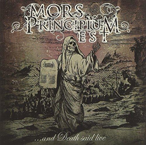 Mors Principium Est: ...And Death Said Live (Audio CD)