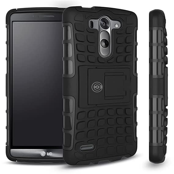 brand new 5551a 432b7 LG G3 Case, LG G3 Armor cases- Tough Armorbox Dual Layer Hybrid Hard/Soft  Protective Case by Cable and Case? - Blue Armor Case