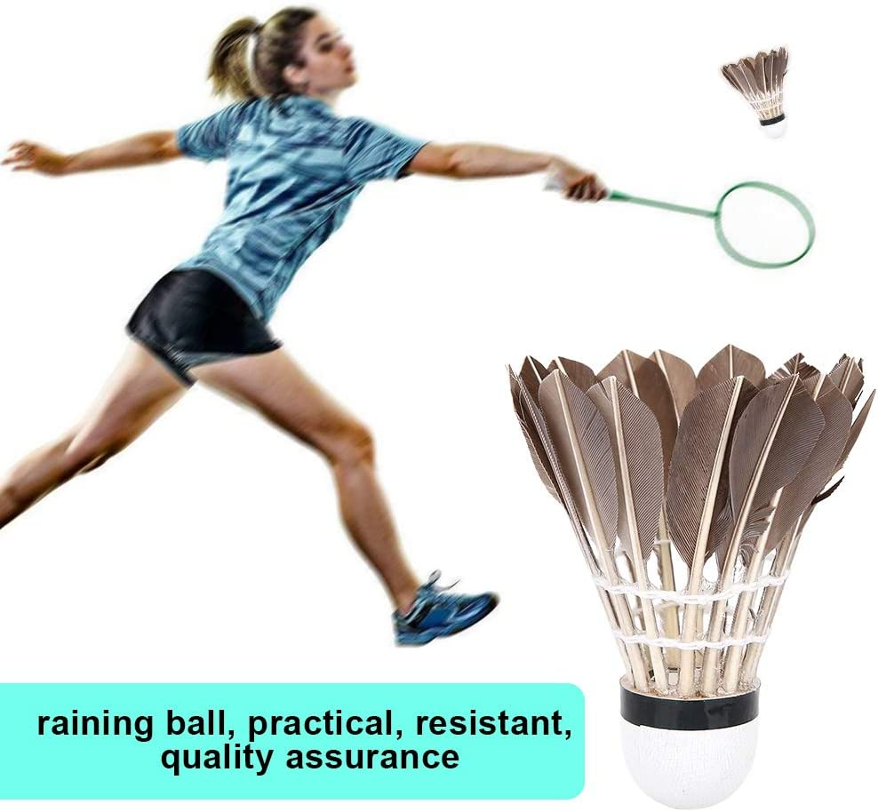 VGEBY Badminton Shuttlecocks 12Pcs Duck Badminton Sport Shuttlecocks Training Badminton Balls Outdoor Indoor Sports Accessory