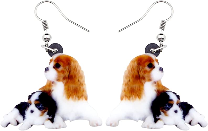 NEWEI Acrylic Novelty Coffee Machine Earrings Dangle Drop Trendy Jewelry For Women Girl Charm Gift