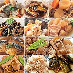 レトルト 和風 煮物 豪華12種類詰め合わせセット (3) (和食 おかず 惣菜)