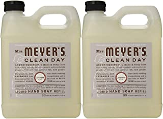 product image for Mrs. Meyers Clean Day Hand Soap Refill, Lavender 33 oz (Pack Of 2)