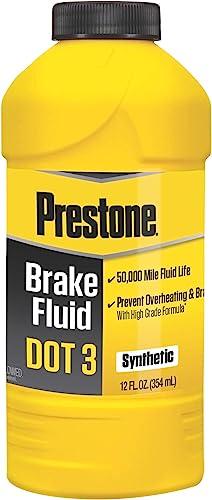 Prestone AS400 DOT3 Synthetic Brake Fluid
