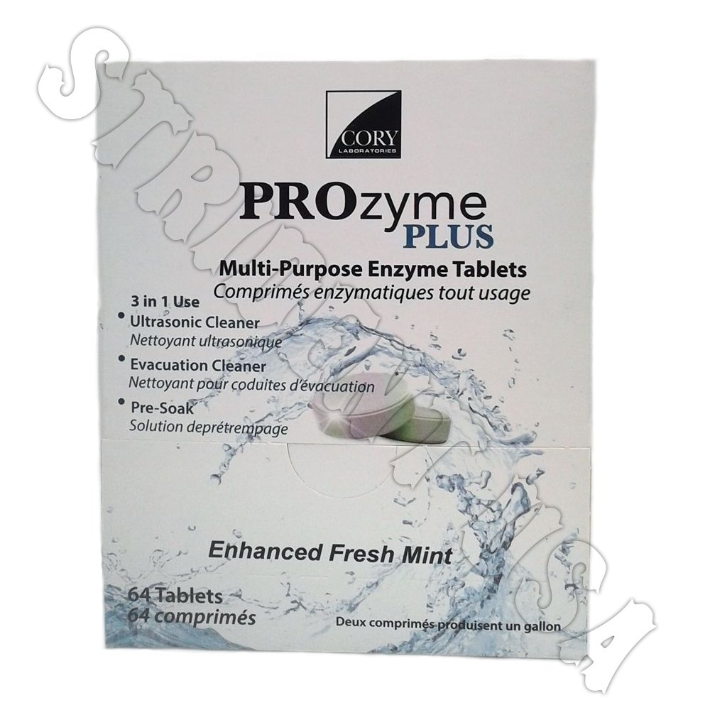 Multi Purpose Enzyme Tablet Ultrasonic & Evacuation Cleaner 64 tablets Prozyme