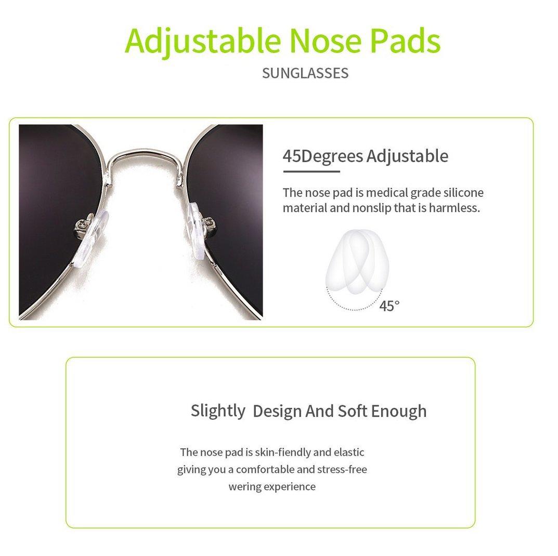 6111b51b2f 4sold Lente Completo UV400 Gafas de Sol con Diseño de Moda Retro Para  Hombre y Para Mujer Black Black: Amazon.es: Deportes y aire libre