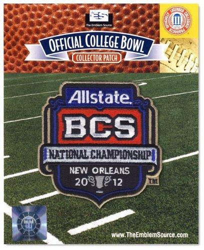 Emblem Source 2012 Allstate BCS National Championship Game Patch LSU vs. Alabama