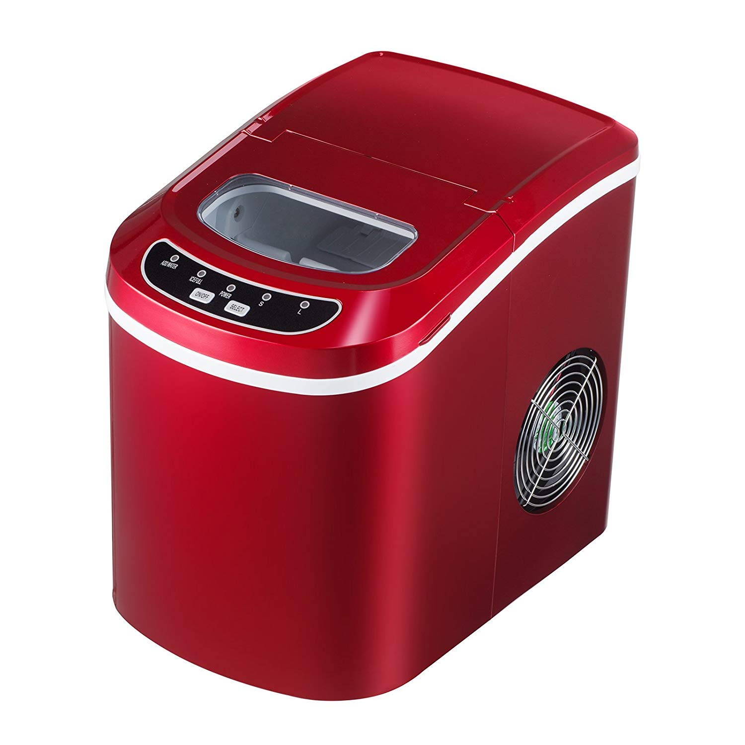 KUPPET Portable Ice Maker Countertop with 26lbs Daily Capacity, 9 Ice Cubes Ready in 8 Minutes,Ice Cube Maker Machine