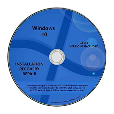 dell windows 10 pro recovery disc